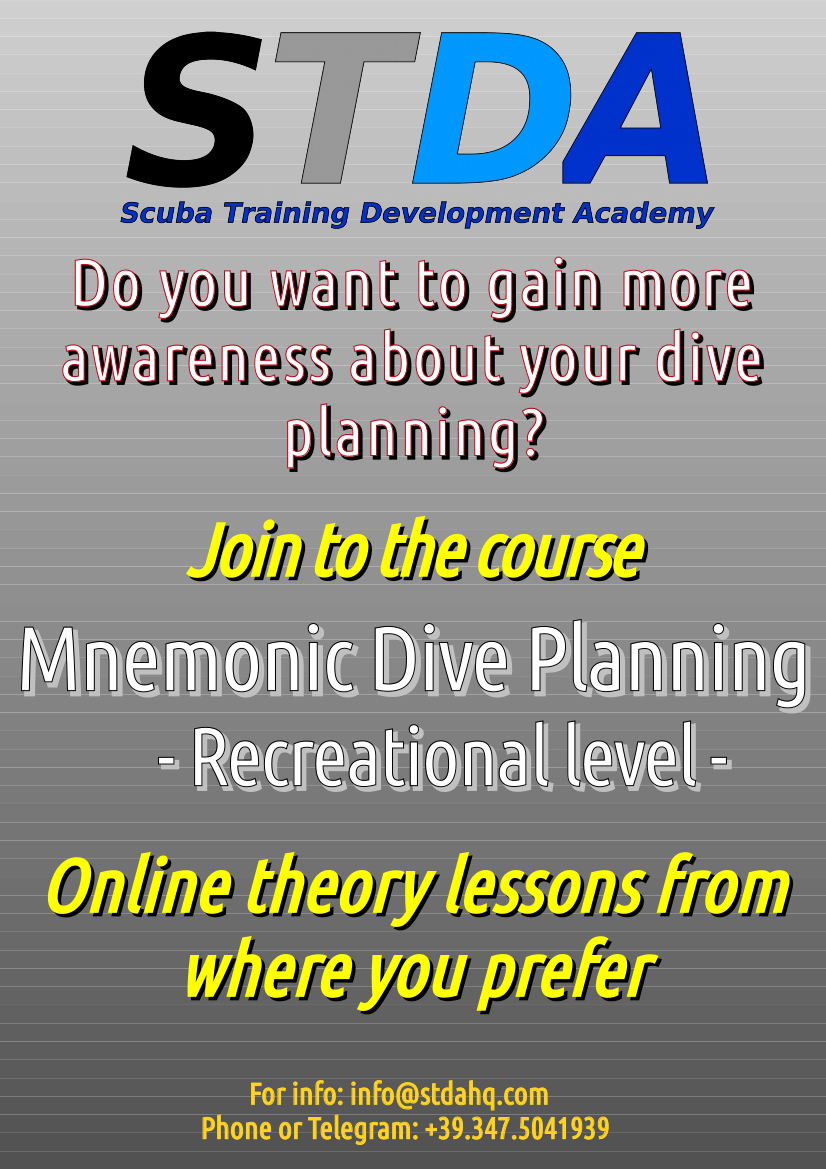 2020 Mnemonic Dive Planning Recreational ENG